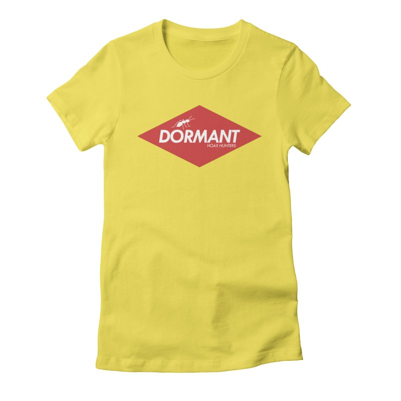 Hoax Hunters Dormant Women's Fitted T-Shirt by The Cherub Records Shop