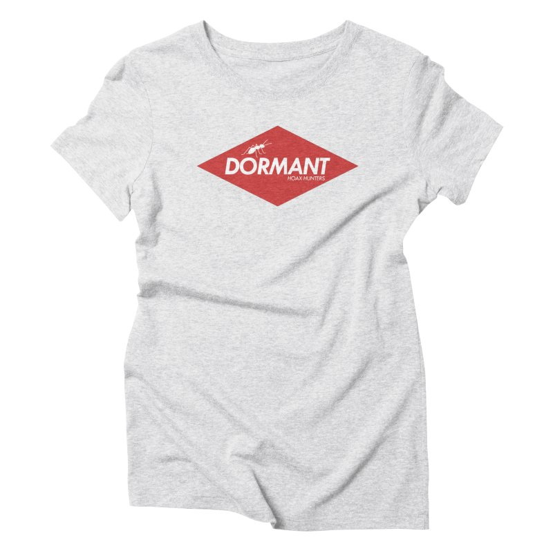 Hoax Hunters Dormant Women's Triblend T-Shirt by The Cherub Records Shop