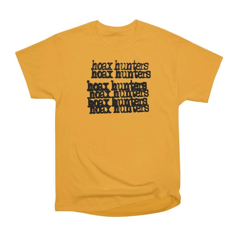 Hoax Hunters Cheep Ricky Women's Heavyweight Unisex T-Shirt by The Cherub Records Shop