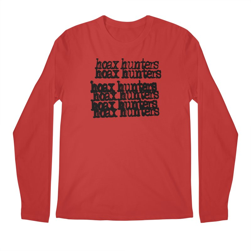 Hoax Hunters Cheep Ricky Men's Regular Longsleeve T-Shirt by The Cherub Records Shop