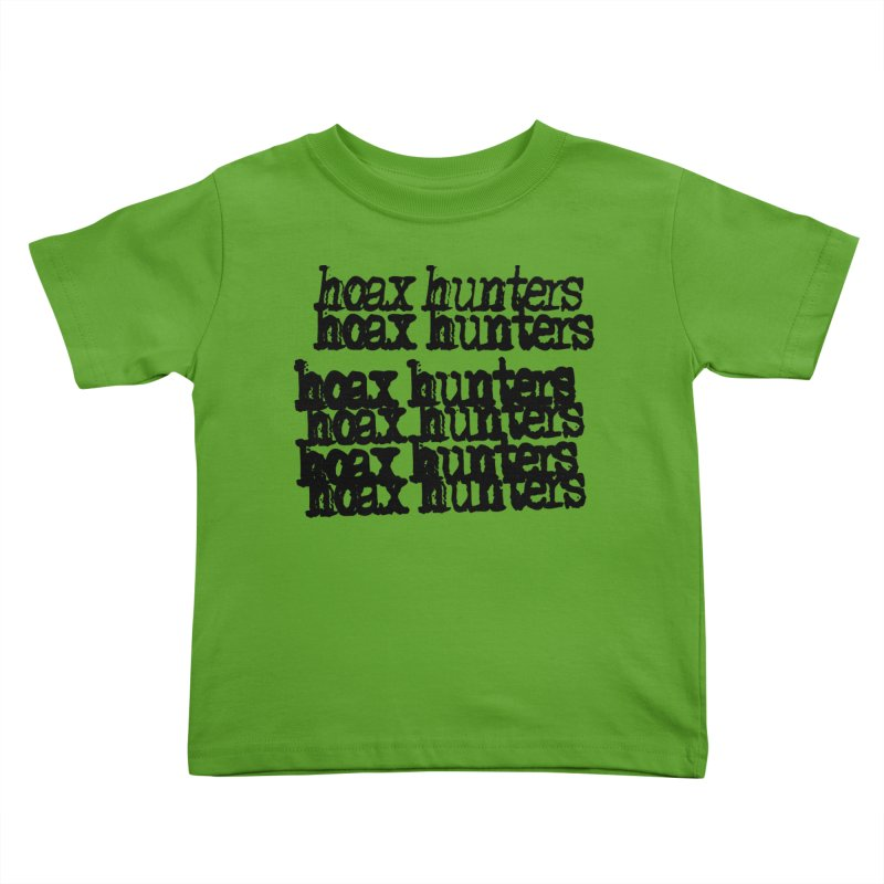 Hoax Hunters Cheep Ricky Kids Toddler T-Shirt by The Cherub Records Shop