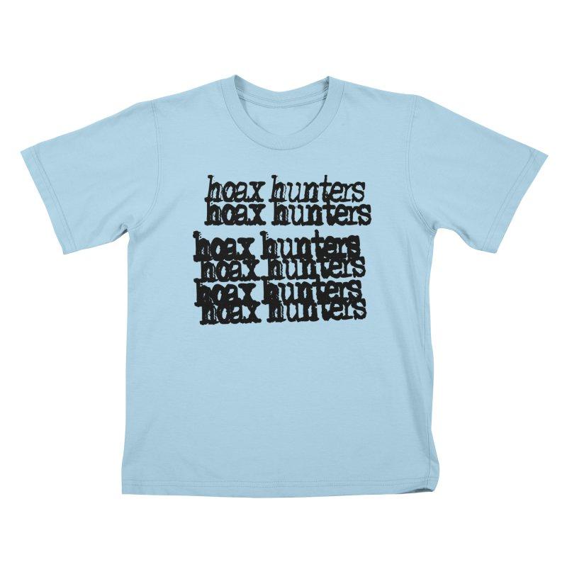 Hoax Hunters Cheep Ricky Kids T-Shirt by The Cherub Records Shop