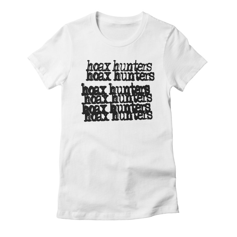 Hoax Hunters Cheep Ricky Women's Fitted T-Shirt by The Cherub Records Shop