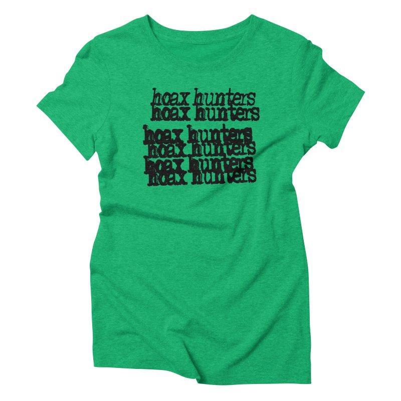 Hoax Hunters Cheep Ricky Women's Triblend T-Shirt by The Cherub Records Shop