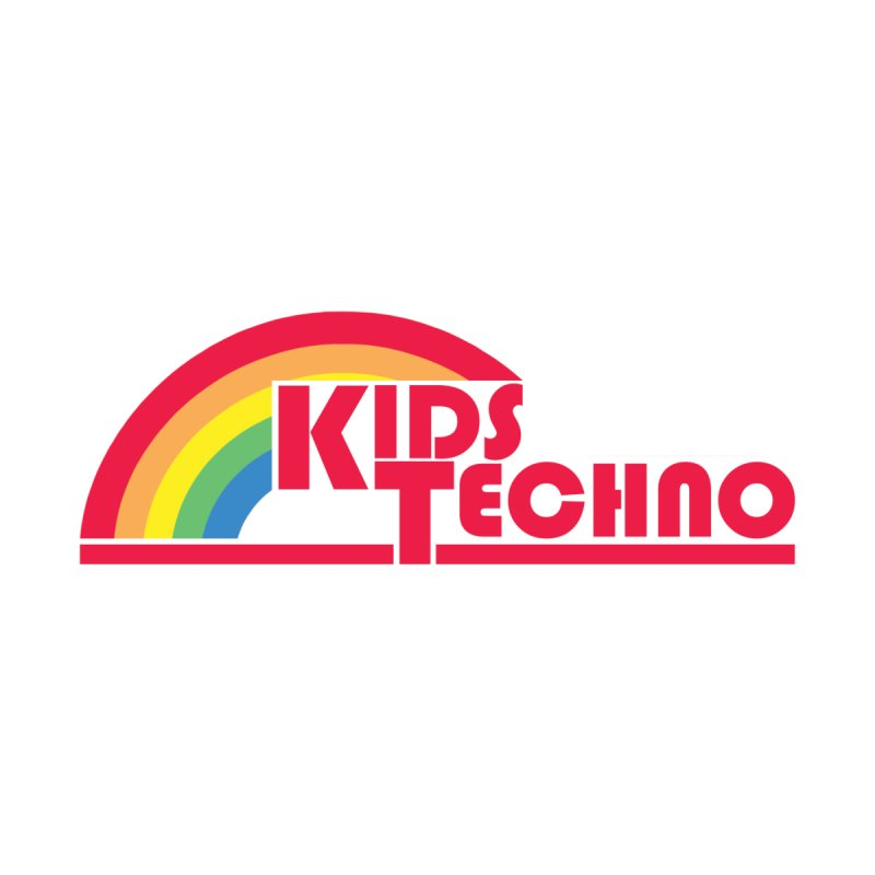 Kids Techno Rainbow by The Cherub Records Shop