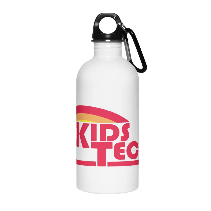 Kids Techno Rainbow Accessories Water Bottle by The Cherub Records Shop