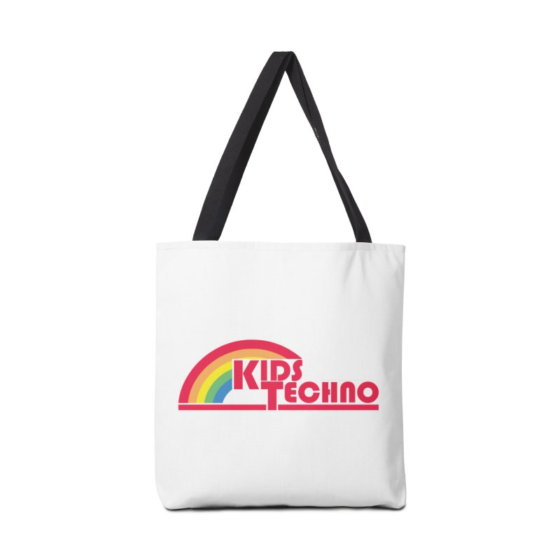 Kids Techno Rainbow Accessories Tote Bag Bag by The Cherub Records Shop