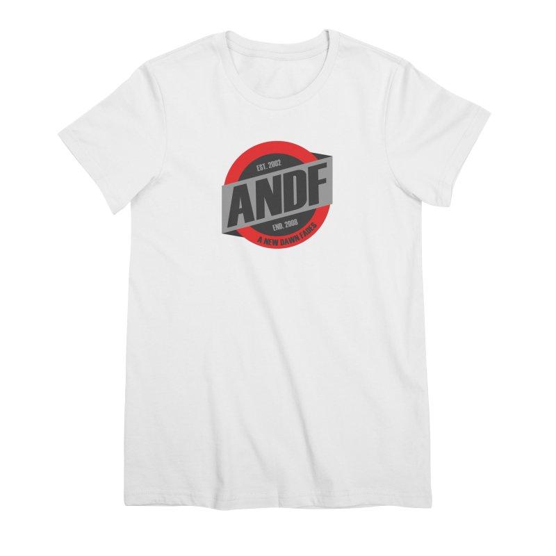 A New Dawn Fades Women's Premium T-Shirt by The Cherub Records Shop