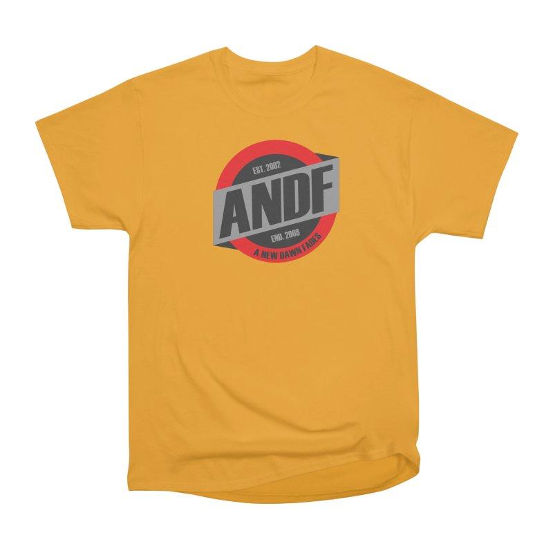 A New Dawn Fades Men's Heavyweight T-Shirt by The Cherub Records Shop