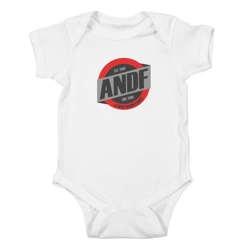 A New Dawn Fades Kids Baby Bodysuit by The Cherub Records Shop