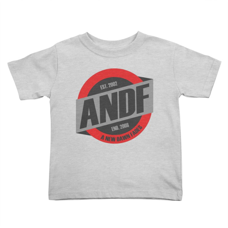 A New Dawn Fades Kids Toddler T-Shirt by The Cherub Records Shop