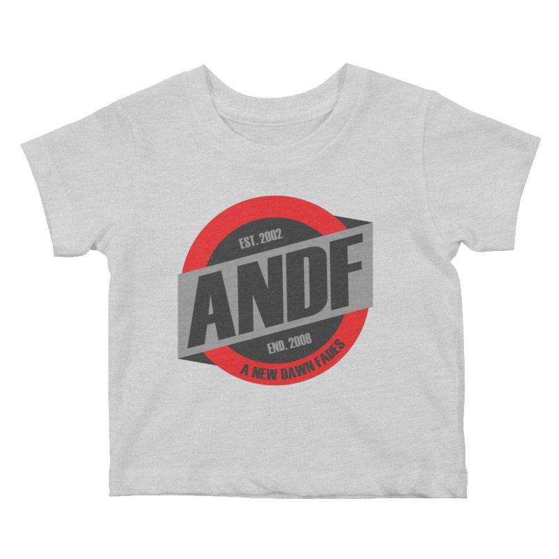 A New Dawn Fades Kids Baby T-Shirt by The Cherub Records Shop