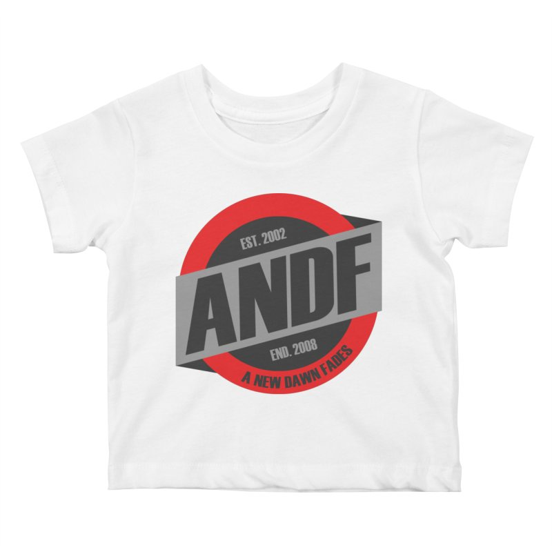 A New Dawn Fades Kids Baby T-Shirt by The Cherub Records Shop