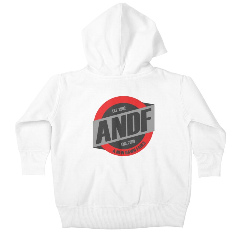 A New Dawn Fades Kids Baby Zip-Up Hoody by The Cherub Records Shop