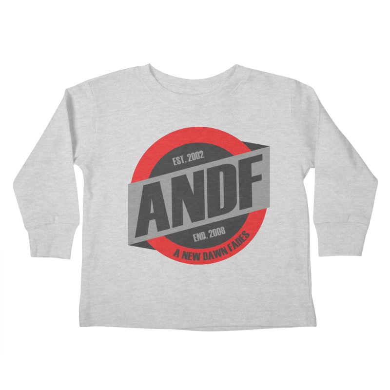 A New Dawn Fades Kids Toddler Longsleeve T-Shirt by The Cherub Records Shop