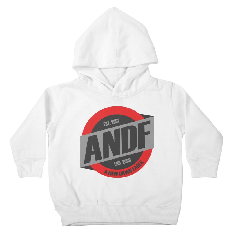A New Dawn Fades Kids Toddler Pullover Hoody by The Cherub Records Shop
