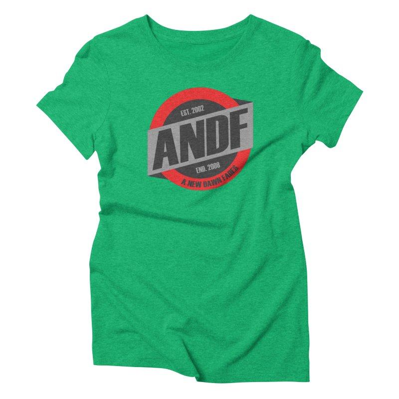 A New Dawn Fades Women's Triblend T-Shirt by The Cherub Records Shop