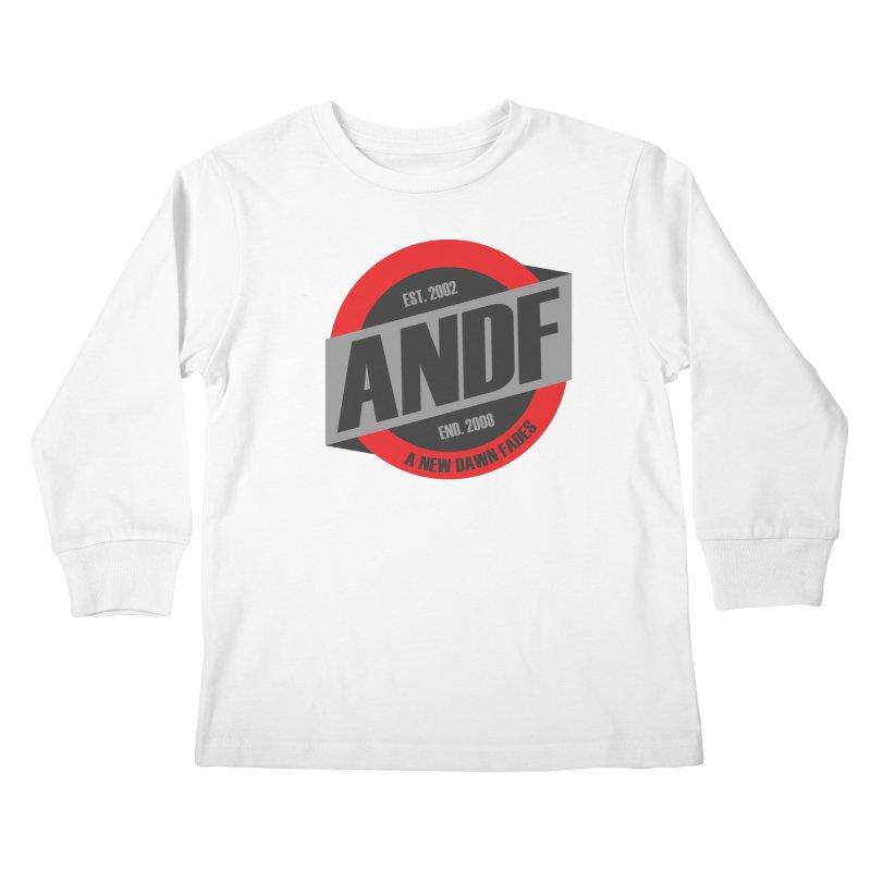 A New Dawn Fades Kids Longsleeve T-Shirt by The Cherub Records Shop