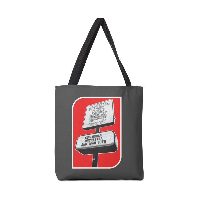 The Colloquial Orchestra Accessories Tote Bag Bag by The Cherub Records Shop