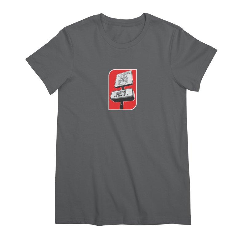 The Colloquial Orchestra Women's Premium T-Shirt by The Cherub Records Shop