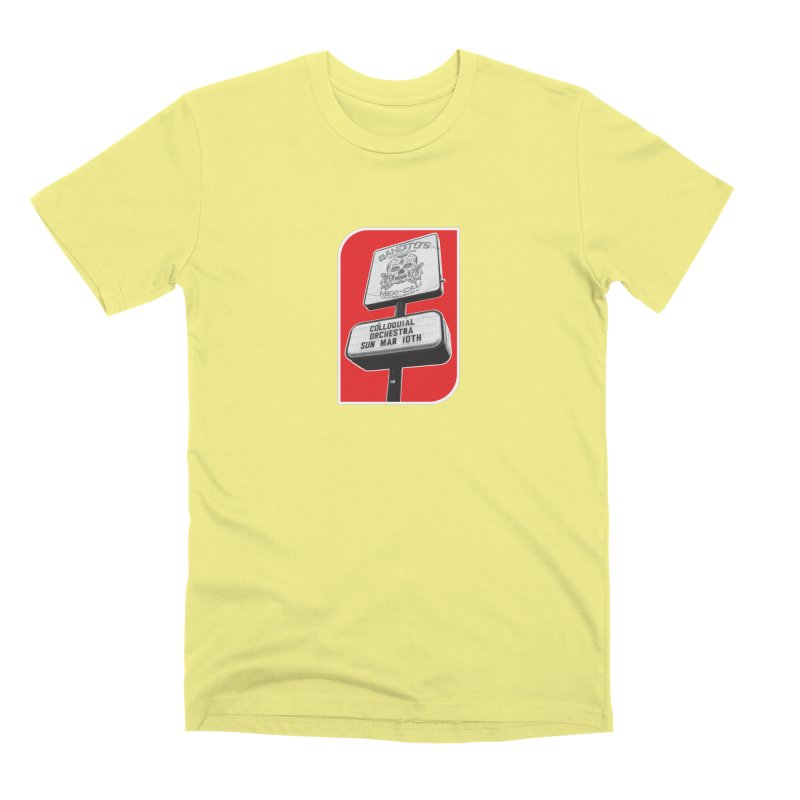 The Colloquial Orchestra Men's Premium T-Shirt by The Cherub Records Shop