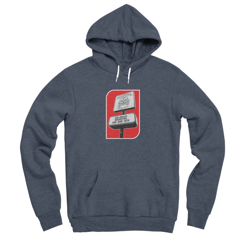 The Colloquial Orchestra Women's Sponge Fleece Pullover Hoody by The Cherub Records Shop