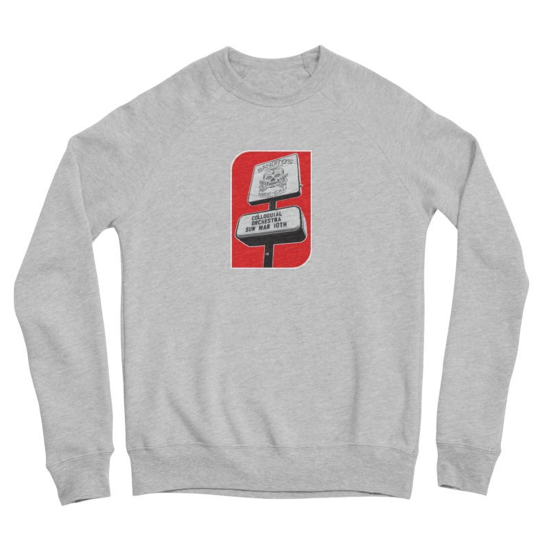 The Colloquial Orchestra Women's Sponge Fleece Sweatshirt by The Cherub Records Shop
