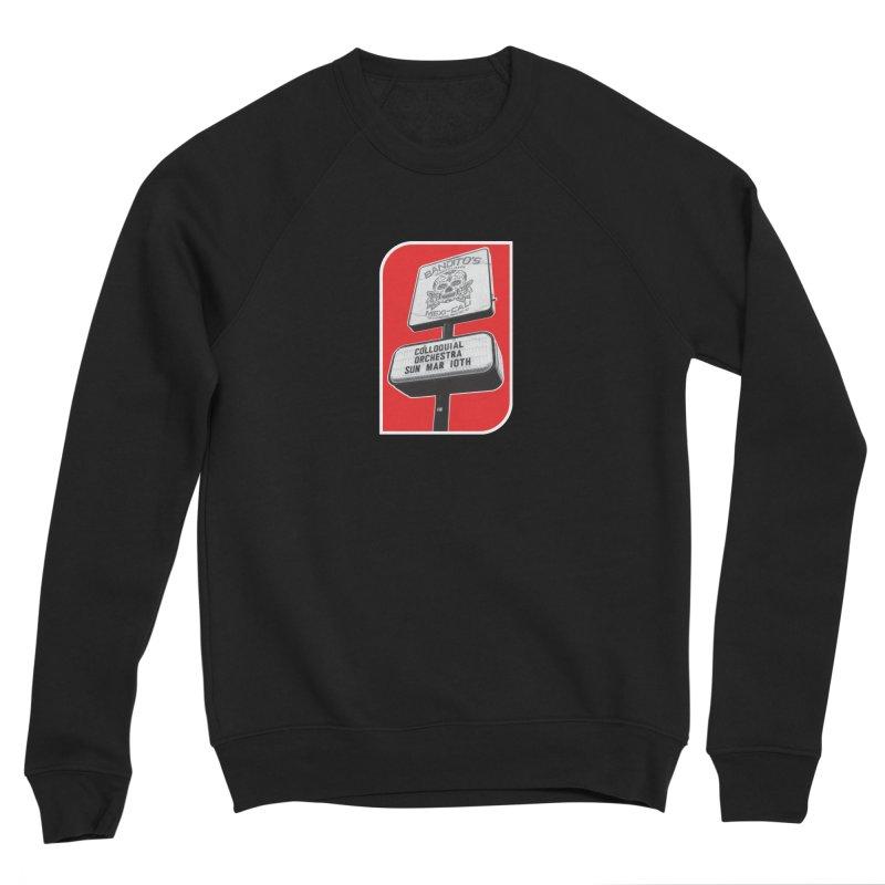 The Colloquial Orchestra Men's Sponge Fleece Sweatshirt by The Cherub Records Shop