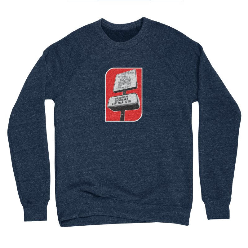 The Colloquial Orchestra Women's Sponge Fleece Sweatshirt by The Cherub Records Shop