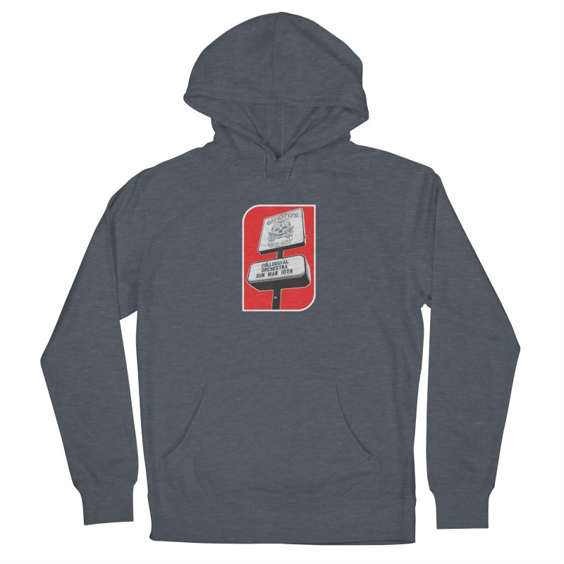 The Colloquial Orchestra Men's French Terry Pullover Hoody by The Cherub Records Shop