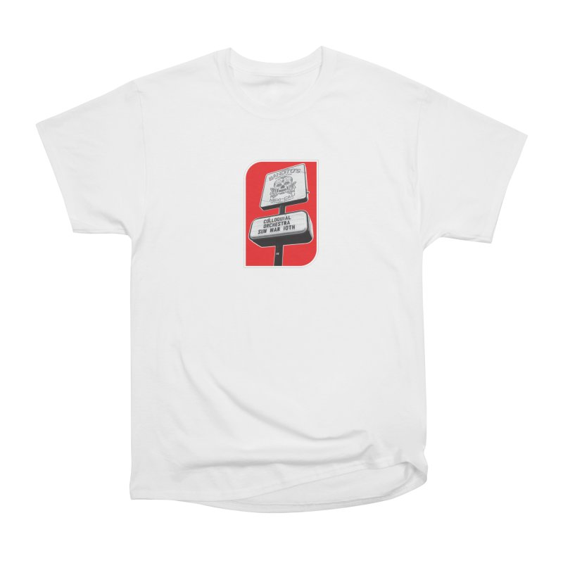 The Colloquial Orchestra Men's Heavyweight T-Shirt by The Cherub Records Shop