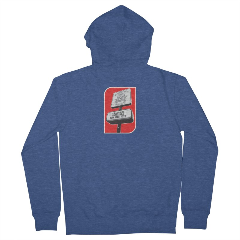 The Colloquial Orchestra Women's French Terry Zip-Up Hoody by The Cherub Records Shop
