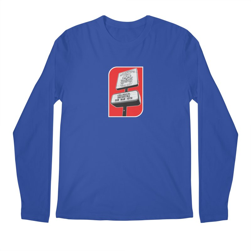 The Colloquial Orchestra Men's Regular Longsleeve T-Shirt by The Cherub Records Shop