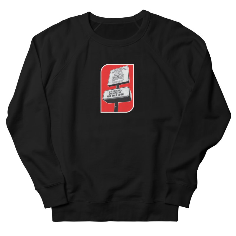The Colloquial Orchestra Women's French Terry Sweatshirt by The Cherub Records Shop