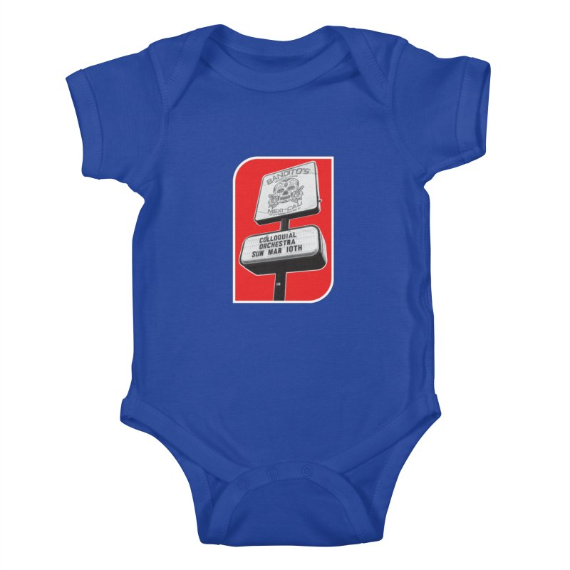 The Colloquial Orchestra Kids Baby Bodysuit by The Cherub Records Shop