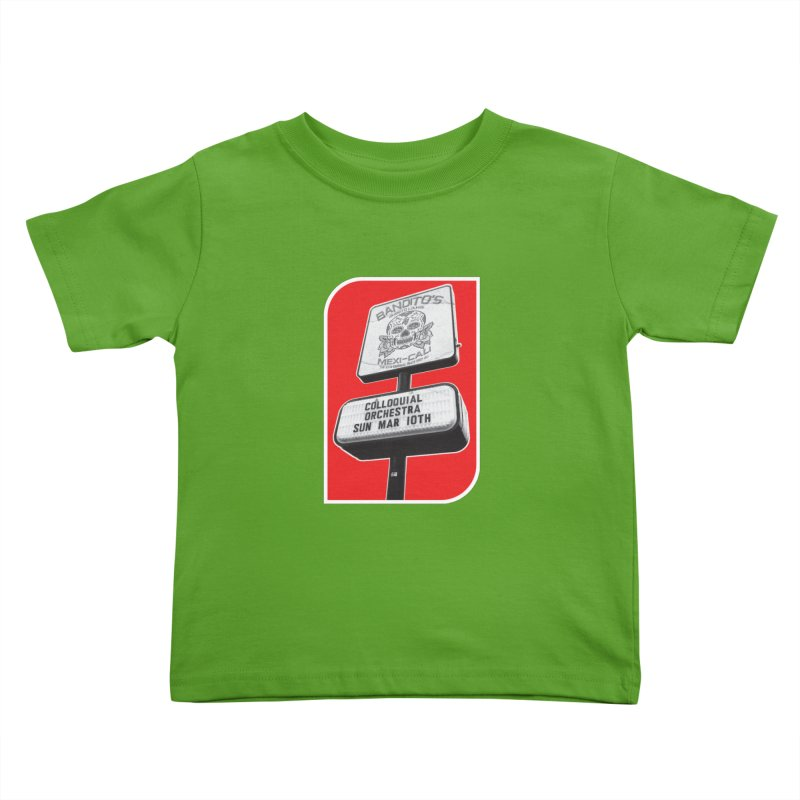 The Colloquial Orchestra Kids Toddler T-Shirt by The Cherub Records Shop