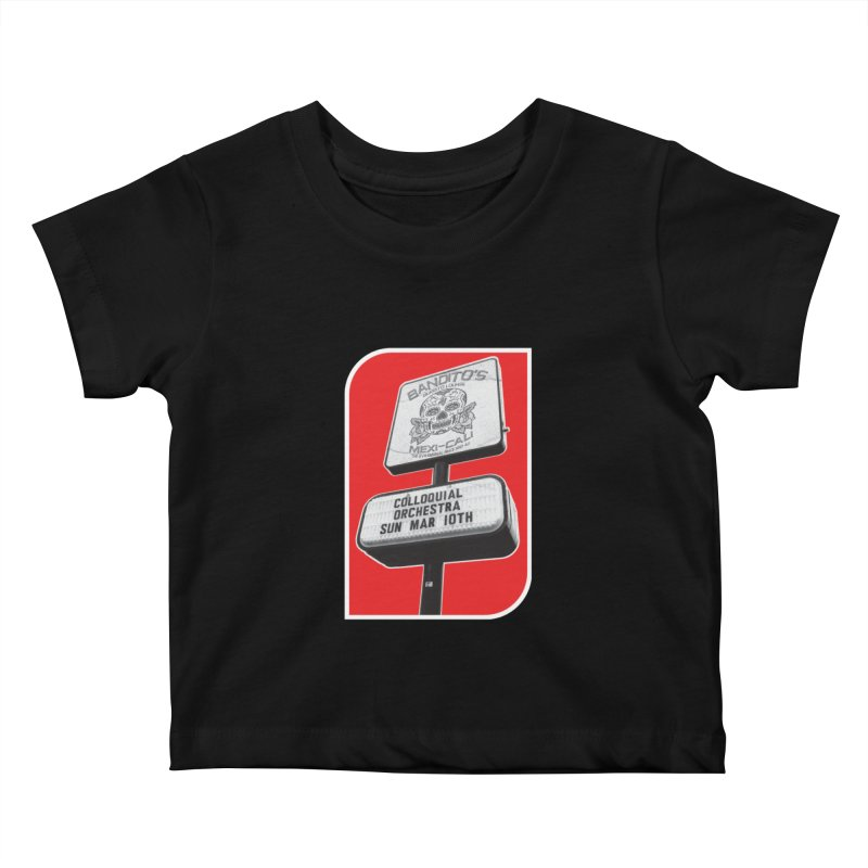The Colloquial Orchestra Kids Baby T-Shirt by The Cherub Records Shop