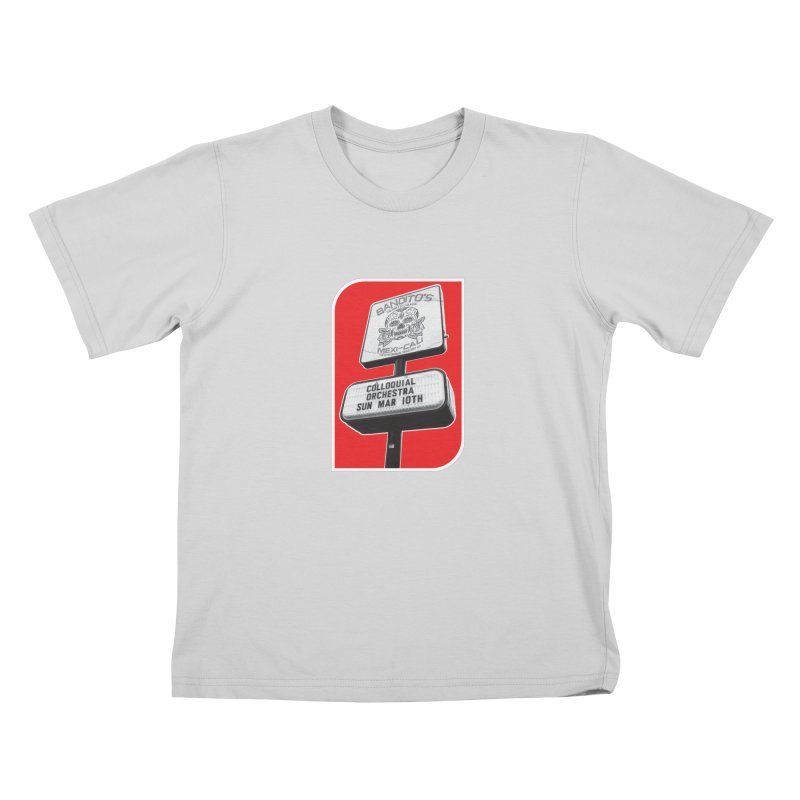 The Colloquial Orchestra Kids T-Shirt by The Cherub Records Shop