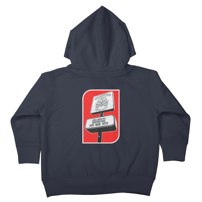 The Colloquial Orchestra Kids Toddler Zip-Up Hoody by The Cherub Records Shop