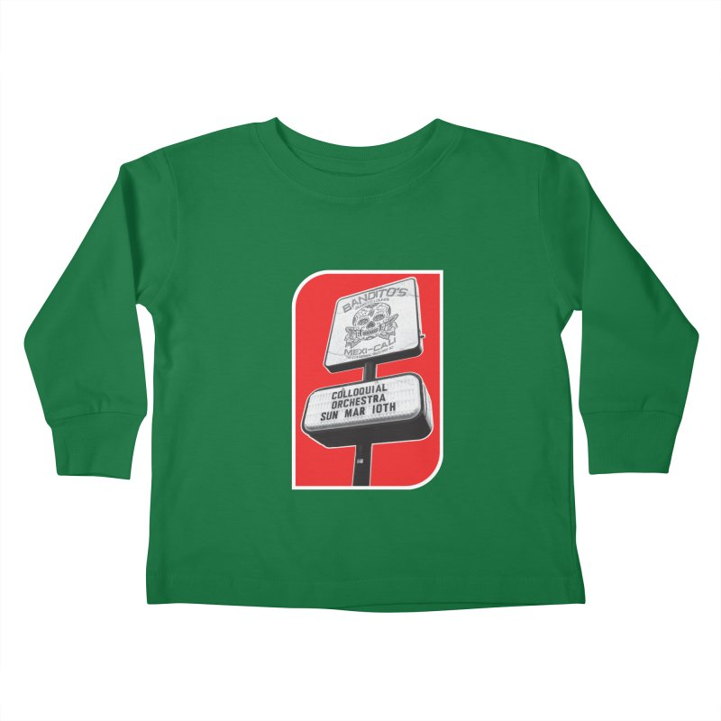 The Colloquial Orchestra Kids Toddler Longsleeve T-Shirt by The Cherub Records Shop