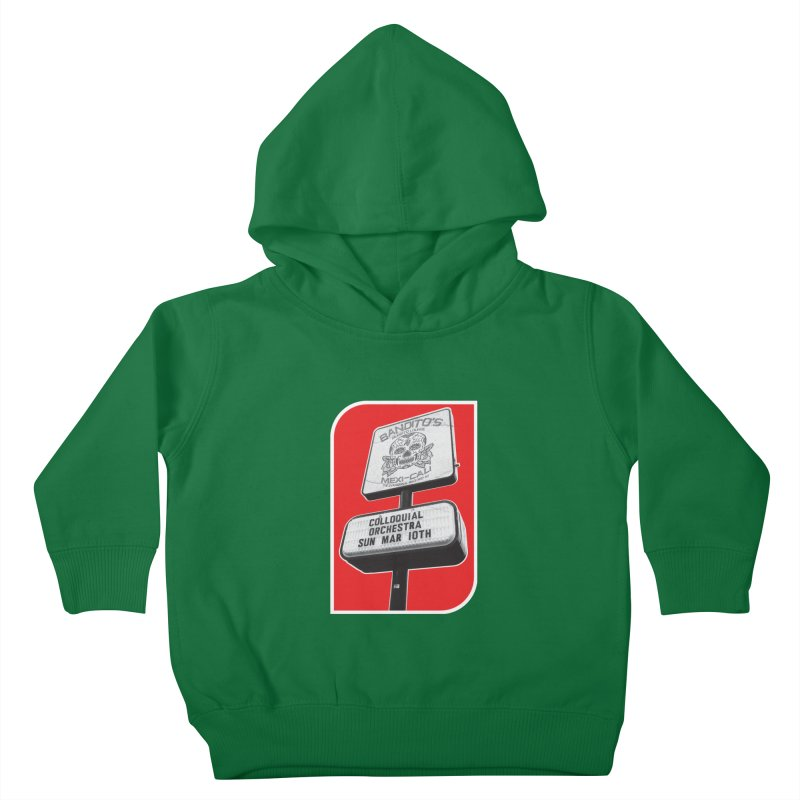 The Colloquial Orchestra Kids Toddler Pullover Hoody by The Cherub Records Shop