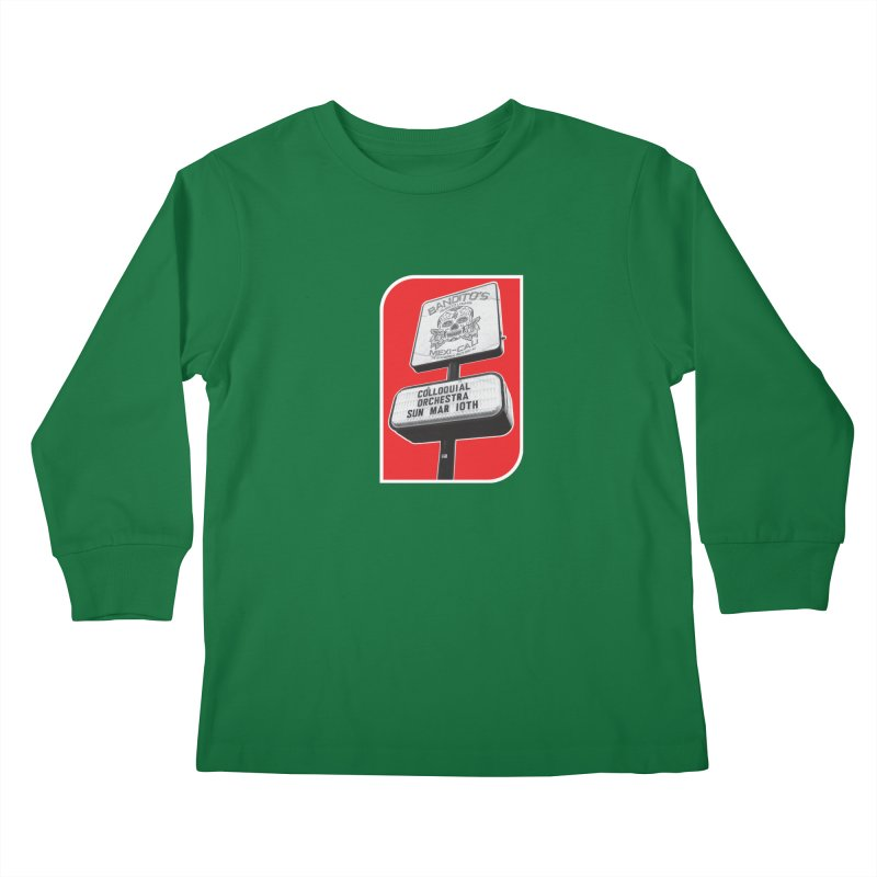 The Colloquial Orchestra Kids Longsleeve T-Shirt by The Cherub Records Shop