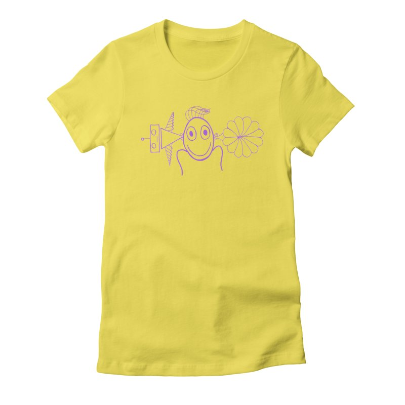 Sounds of Voices Women's Fitted T-Shirt by cheshire's Artist Shop