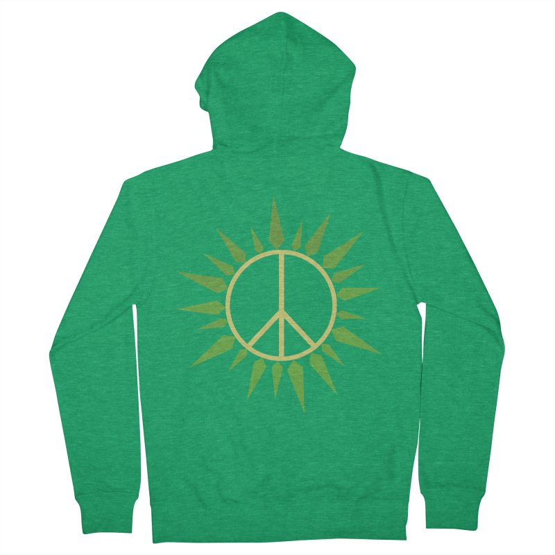 SpringPeace Men's Zip-Up Hoody by cheshire's Artist Shop