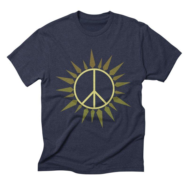 SpringPeace Men's Triblend T-Shirt by cheshire's Artist Shop