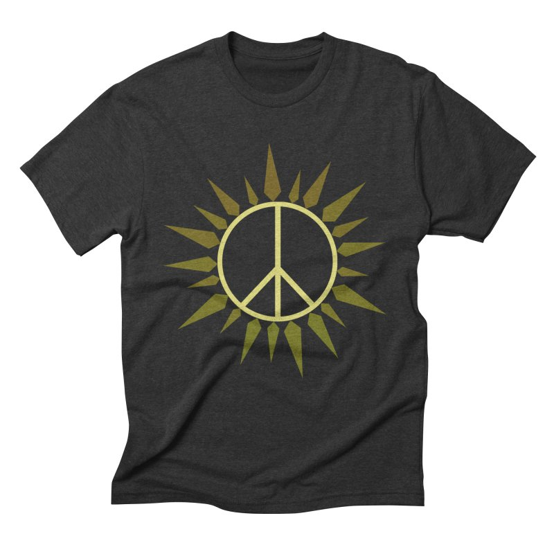 SpringPeace Men's Triblend T-Shirt by cheshire's Artist Shop