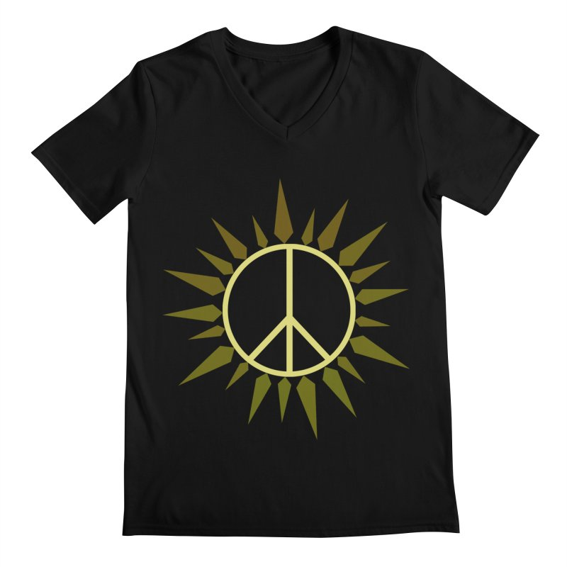 SpringPeace Men's V-Neck by cheshire's Artist Shop