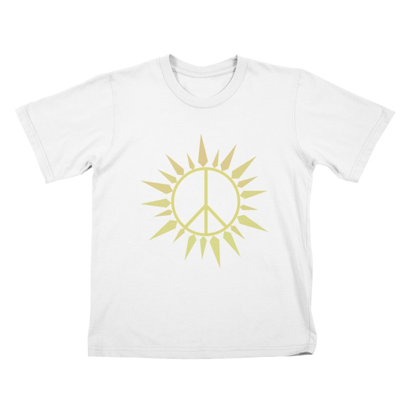 SpringPeace Kids T-Shirt by cheshire's Artist Shop