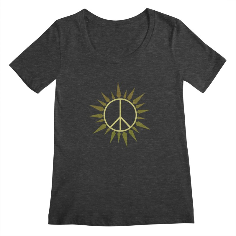 SpringPeace Women's Scoopneck by cheshire's Artist Shop