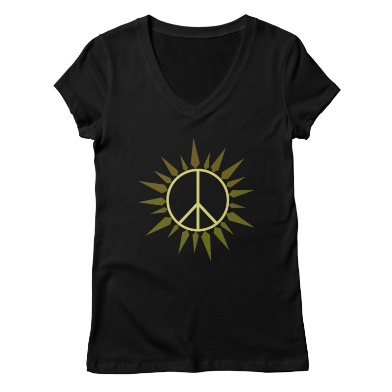 SpringPeace Women's V-Neck by cheshire's Artist Shop